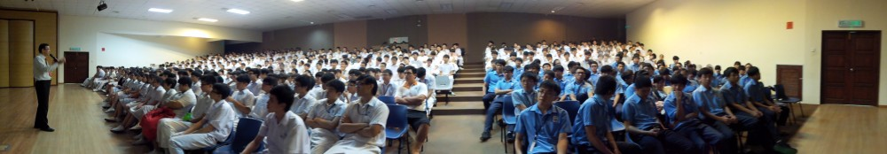 TLK-BZHR 121008峇株华仁中学 行知赏识激励讲座《赏识的窗外有蓝天》